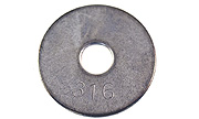 #8 x 3/4 Fender Washer Type 316 Stainless