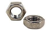 1/2-13 Thin Hex Jam Nuts 316 Stainless Steel