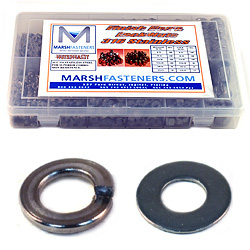Flat & Lock Washer Assortment Kit 316 Stainless Steel