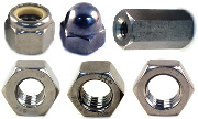 316  Stainless Steel Nuts - All Styles