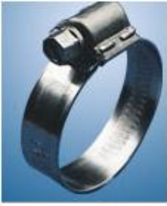 #4 ABA 316 Stainless Steel (11-17) Hose Clamp 7/16