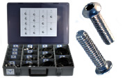 BUTTON HEAD SOCKET CAP SCREW Assortment Kit 18-8 / 304 Stainless Steel