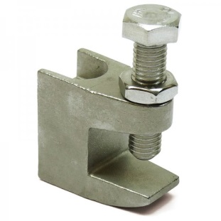 1/4-20 Beam Clamp 316 Stainless Steel