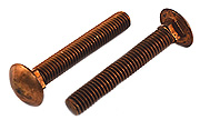 3/8-16 x 2 Carriage Bolt Silcon Bronze