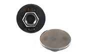 3/8-16 Carriage Cap Nut 18-8 / 304 Stainless Steel