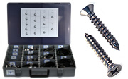 Flat Head Sheet Metal Screw Assortment Kits