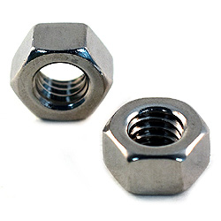 5/8-11 Finish Hex Nuts 18-8 / 304 Stainless Steel