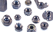 18-8 Stainless Steel Hex Nuts - All Styles