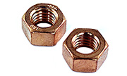 1/4-20 Hex Nut  Silicon Bronze