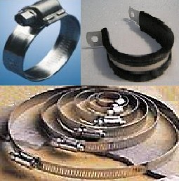HOSE CLAMPS - ALL STYLES 18-8/304 & 316