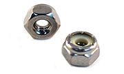 10-24 Nylon Insert Hex Lock Nuts 18-8 Stainless Steel