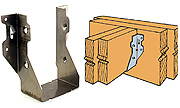 LUS26-2SS DOUBLE Shear Joist Hanger 316 Stainless Steel