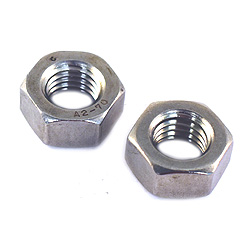 M 6 x 1.00 pitch Hex Nuts  A2 Stainless DIN 934-A2