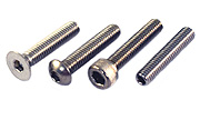18-8 Stainless Steel Socket Head Screws