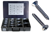 Oval Head Sheet Metal Screw Assortment Sets