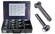 PAN Head Machine Screw Assortment Kit 18-8 Stainless Steel
