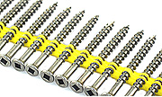 #10 x 2 1/2 Quik Drive Collated Deck Screws 305 Stainless