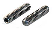 M4 x 6 Socket Set Grub Screws Cup Point A2 Stainless Steel