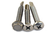 Tek Screws - All Head Styles  410 Stainless