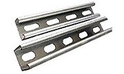 1 5/8  x 1 5/8 Long Slot Strut - Stainless Steel 14 Gauge