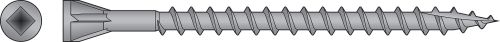 #7 x 2 1/2 Gray Head Trim Screw - Collated 305 Stainless