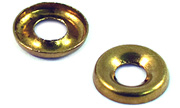 #10 Brass Finish Cup Washers