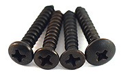 Black Oxide Stainless Screws