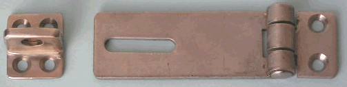 7 1/2 Extra Heavy Duty Hinge Hasp 18-8 Stainless Steel
