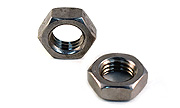 Hex Jam Nuts Fine Pitch 18-8 Stainless Steel