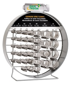 Large Ideal/Tridon Hose Clamp Rack