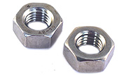 M 4 x .70 pitch Hex Nuts  A2 Stainless DIN 934-A2