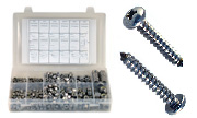 Phillips Pan Head Sheet Metal Screws Assortment  Kit Set 316 Stainless Steel