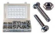 Phillips Pan Head Machine Screws and Nuts Assortment  Kit Set 18-8 Stainless Steel