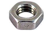 3/8-16 All Metal Jam Lock Nut Side Staked 304 Stainless Steel.