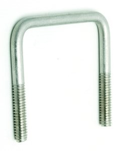 1/2-13 x 2 1/16 x 4 5/16 SQUARE BEND U-BOLTS STAINLESS STEEL